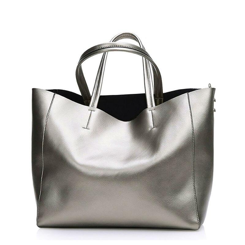 Bolsas <font><b>Silver</b></font> Luxury Famous Brand Women Messenger Bags <font><b>Handbags</b></font> Women Famous Brands Gold Women Leather <font><b>Handbags</b></font> Sac A Main Tote