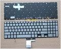 Nuevo teclado para samsung 770z5e np770z5e 780z5e np780z5e np880z5e np670z5e 670z5e laptop ee.uu. idioma retroiluminado plata sin marco