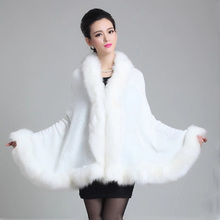 2016 Winter Jacket Women Fashion Women Faux Fur Coat Jackets Women  Sections Women Shawl