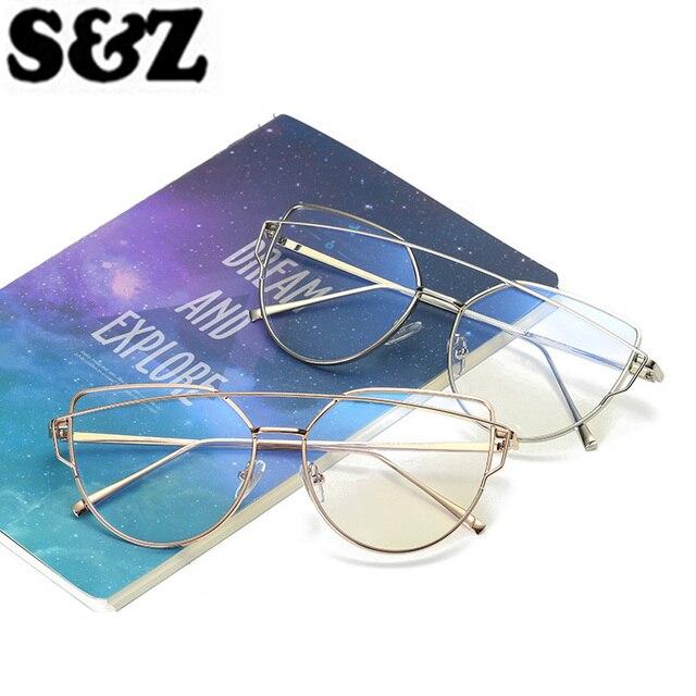 Flat Lense Mirror Sunglasses Women Cat Eye Glass Sunglasses Classic Brand  Designer Sun Glasses Rose Gold Frame Fashion Ladies 8dd0af7746