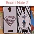 """Xiaomi redmi note 2 case cubierta del teléfono móvil 5.5 """"forma de dibujos animados retro hacer el viejo clásico teléfono case (capitán/zebra/Superman)"""