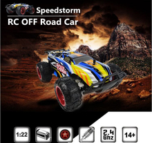 2017 Sports high speed car 9601 2.4G 1/22 electric big foot RC Buggy Speedstorm Blue Red Remote Control Car Toy vs 333 – GS04B