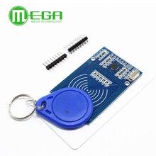 10 takım RFID modülü RC522 MFRC 522 RDM6300 kitleri S50 13.56 Mhz 125Khz etiketleri ile 6cm SPI yazma & arduino için okumak