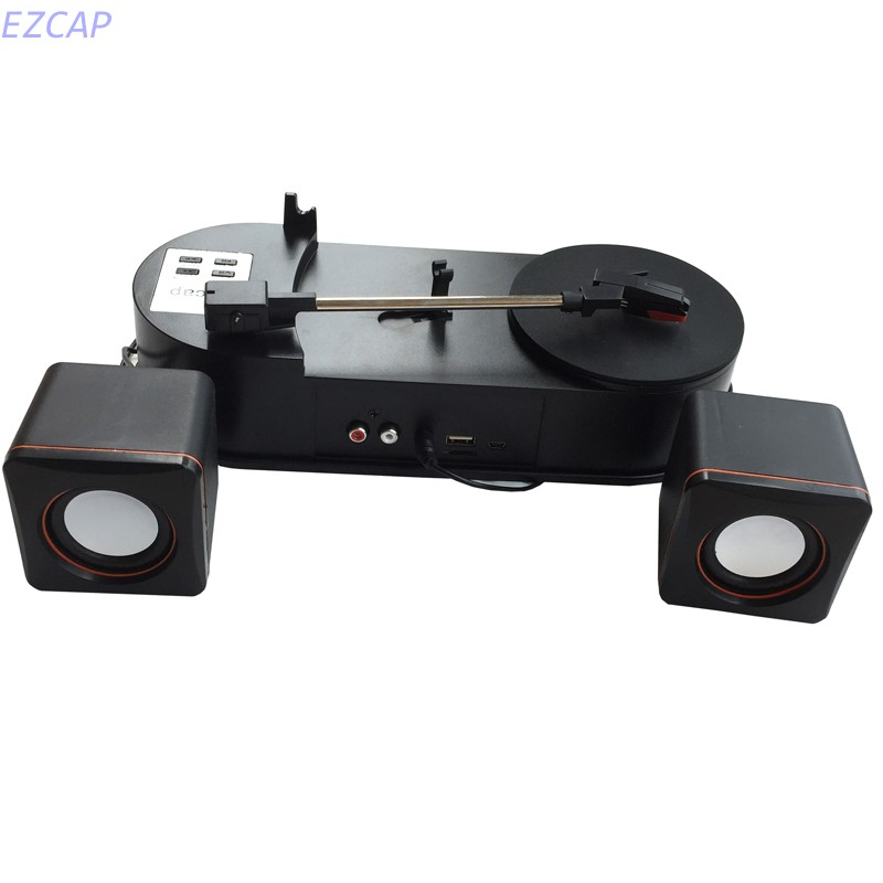 2017 new record player turntable, convert vinyl tape audio to MP3/WAV into U Flash driver directly no PC required Free shipping