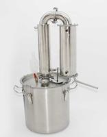 65 Liters Moonshine Distiller For Wine Beer Vodka Water Distillation Brewing Equipment Vin Large Volume