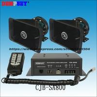 SA 800 высокой мощности 300 Вт Siren, 300 Вт Динамик сигнал тревоги/9 Тон/полицейская сирена, пожарные машины/аварийного/Строительство транспортных/