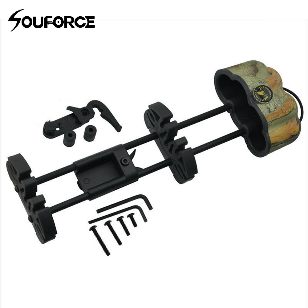 5-Arrow Quiver Archery Fully Adjustable Arrow Quiver Arrow Quiver Arrow Holder for Compound Recirve Bow Hunting Free Shipping every extend extra psp