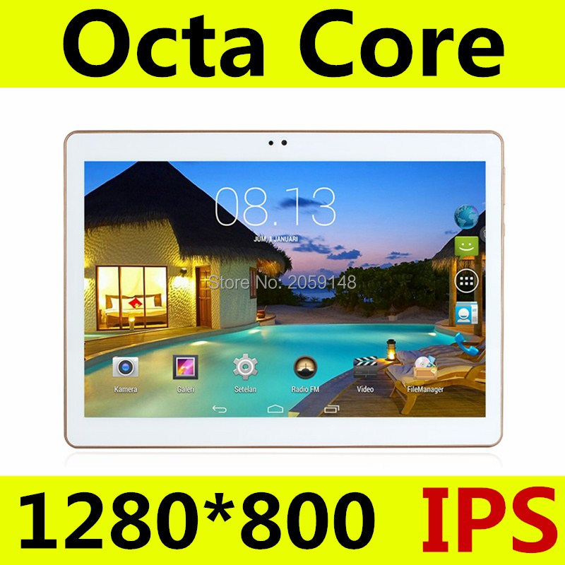 Free Shipping 10 inch Tablet PC Octa Core 4GB RAM 32GB ROM Dual SIM Card Android 5.1 GPS Tablets PCs Call phone Gifts MT8752 free shipping 10 inch tablet pc 4g lte android 6 0 octa core 4gb ram 64gb rom dual sim card bluetooth tablets pcs 10 10 1 gifts