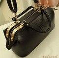 New 2016 Crocodile Pattern Brand Women Handbag Fashion Big Totes Bag Women Leather Bags Handbags Messenger Bag X30-041