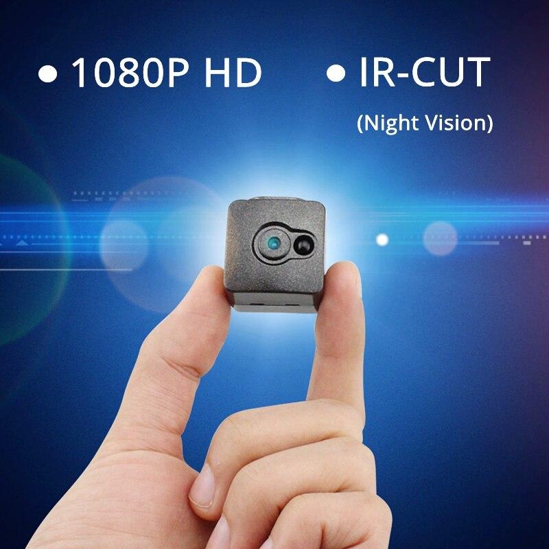 2018 más nuevo 1080 p Full HD secreto mini cámara IR-cut visión nocturna infrarroja más pequeño niñera CAM videocámara Micro video recorder dvr