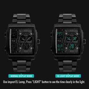 Image 5 - SKMEI צבאי ספורט שעון גברים למעלה מותג יוקרה עמיד למים אלקטרוני דיגיטלי יד שעונים עבור גברים זכר שעון Relogio Masculino