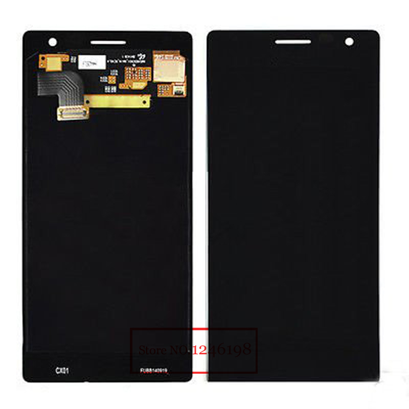 ФОТО High Quality Full LCD Diaplay With Touch Screen Digitizer Assembly For Nokia Lumia 730 Black Replacement Free shipping
