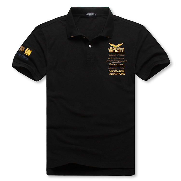 Plus Size 5XL 6XL 7XL 8XL Bust 155cm Brand Army   Polo   Shirt Men Short Cotton Embroidey Italian Air Force   Polo   Men XXL XXXL 4XL