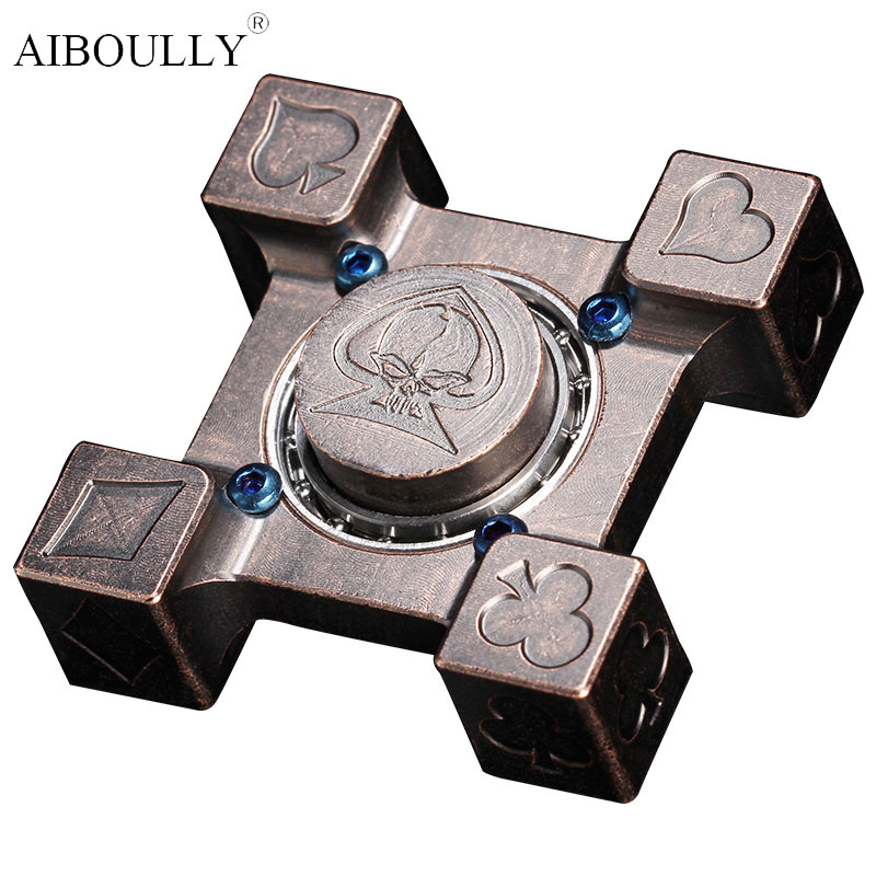 High-quality Fidget Spinner Toy Metal Hand Spinner For Autism And ADHD Rotation Time Long Anti Stress Spinner Hand Toy batman version fidget spinner metal edc toys tri hand spinner for autism and adhd 606 mixed ceramic bearing for fun assembly