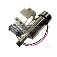 Free Shipping 0.3kw spindle DC 12-48V CNC 300W Spindle Motor Mount Bracket 24V 36V for PCB Engraving