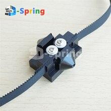 Reprap Kossel Delta M3 M4 Tackle Slide Slider Pulley All Metal 20*20mm Black for 10mm Width Timing Belt