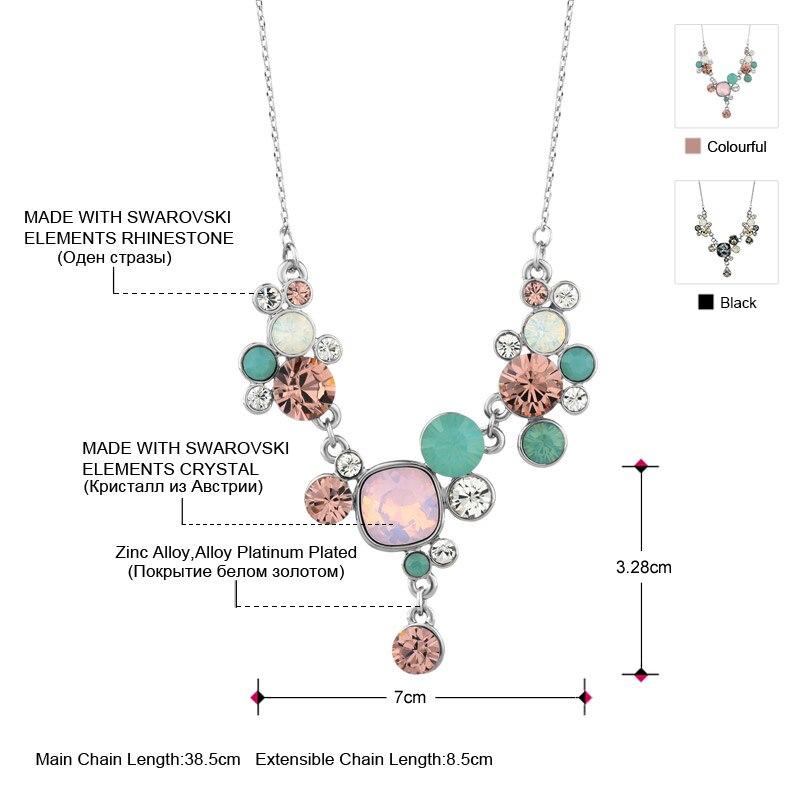 Neoglory, богемные короткие Колье, макси-воротник, ожерелья и подвески,, модные ювелирные изделия, украшенные кристаллами Swarovski