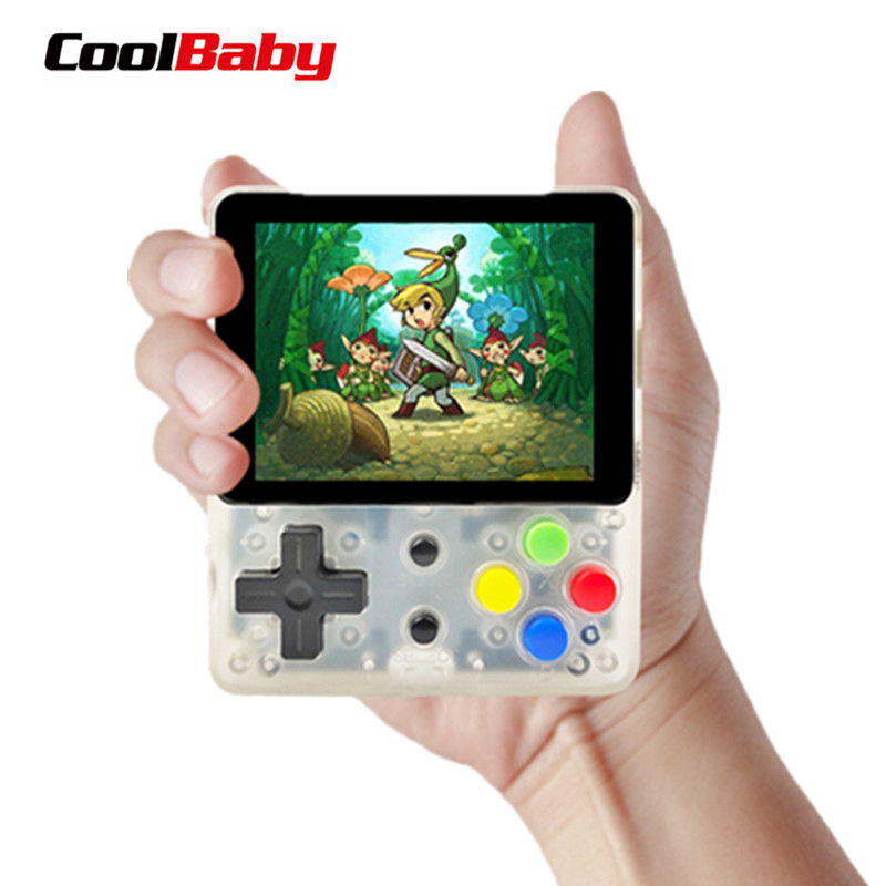 CoolBaby LDK children mini boy video handheld game players console retro video game console for Child