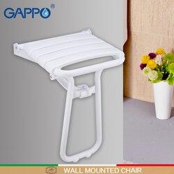 GAPPO miejsc na ścianie prysznic ławki prysznic składane krzesło prysznic krany miksery kąpieli kranu wodospad zestawy do kąpieli