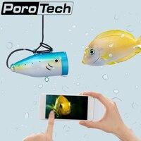 WF01WSL 15 м 49FT Рыболокаторы Wi Fi Подводная охота Камера Поддержка телефон Водонепроницаемый 12 светодиодов ночного просмотра Рыбалка Камера зим
