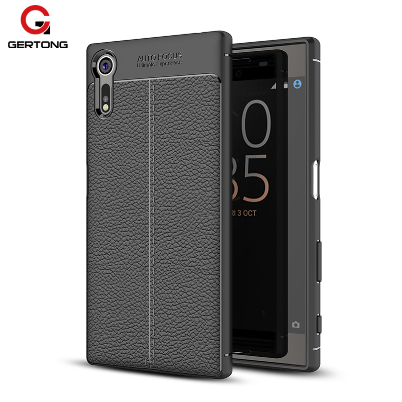 GerTong Case For Sony Xperia XZ Case Mobile Phone Bag Capa Coque For Sony Xperia XZS X Z S Cover Funda Shockproof Shell 5.2 inch