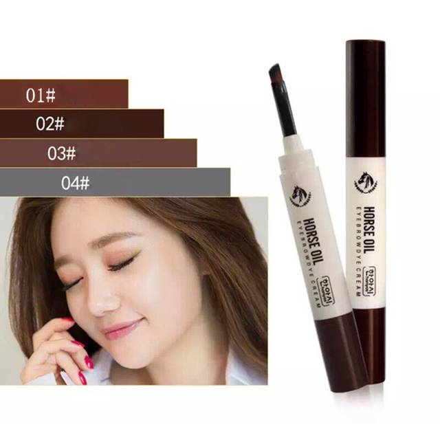 Eye Brow Pencil Pen Makeup Fine Eyebrow Enhancer