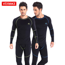 Winter Outdoor Skiing Underwear Sets Snow Johns Warm Thermal Shirts Compress Men Ski Jacket Quick Clothing Sports Compressio