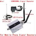 ЖК-Дисплей! мини GSM 900 МГц Мобильный Сотовый Телефон Усилитель Сигнала РФ Ретранслятор Комплект + двойной Внутренняя антенна с 10 М кабель