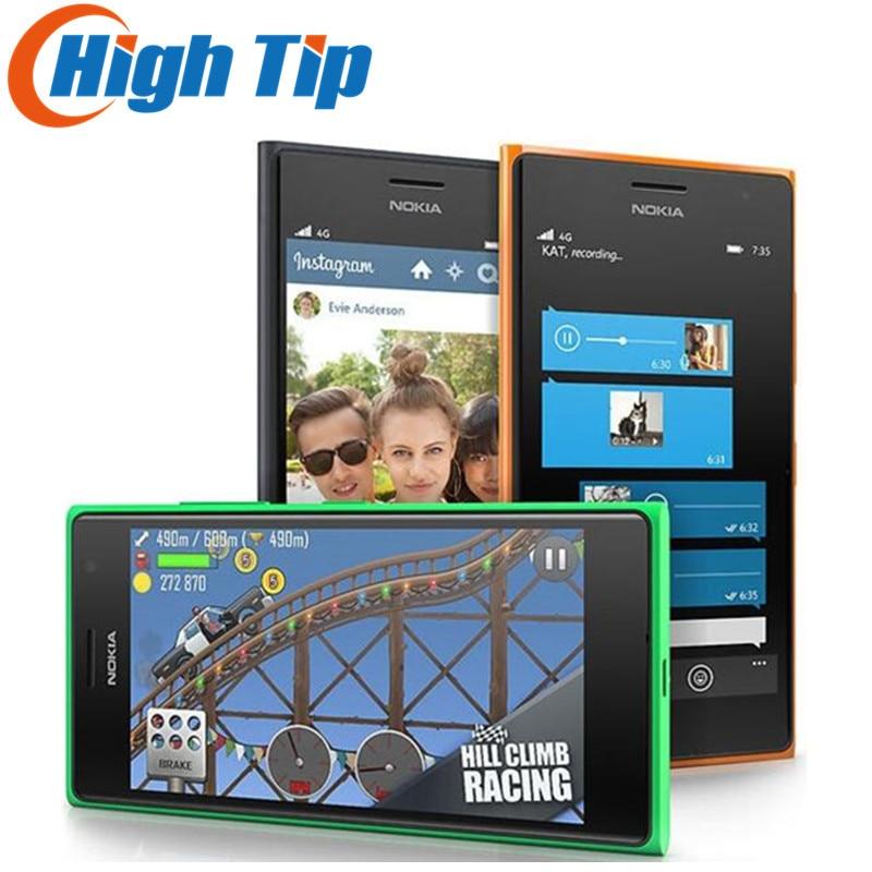 bilder für Freigesetzte Ursprüngliche Nokia Lumia 735 Handy 4,7 zoll 8 GB ROM 1 GB RAM Quad Core LTE Windows Refurbished Handy Dropship