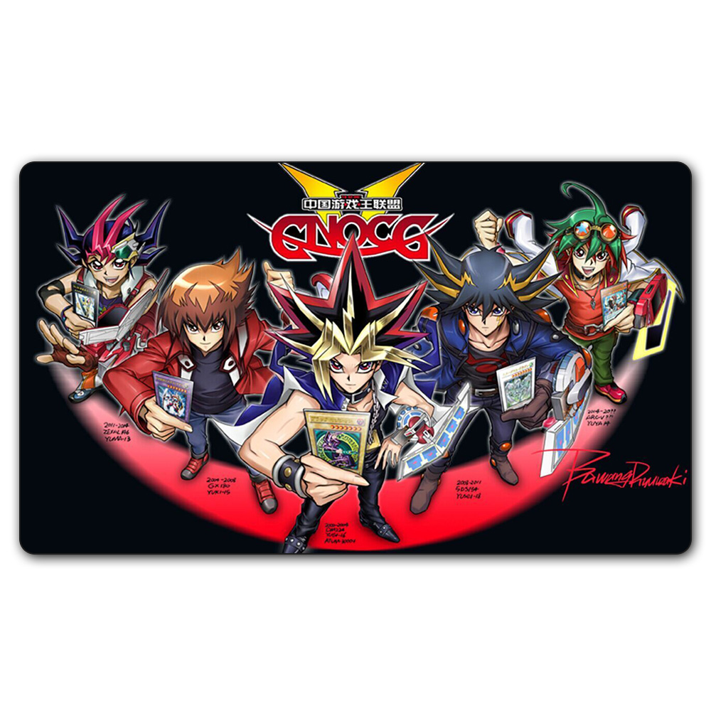 (YGO #37 Playmat) 35X60CM YU-GI-OH China YGO Union Play Mat Board Games YGO Card Games Table Pad with Free Gift Bag