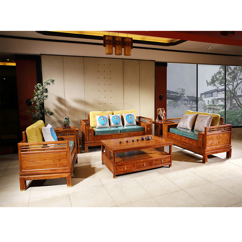 Outstanding Us 11000 0 Chinese Rosewood Sofa Chair Set Solid Wood Small Rectangle Tea Table Custom Antique Mahogany Hedgehog Redwood Living Room 6 Pcs In Living Machost Co Dining Chair Design Ideas Machostcouk