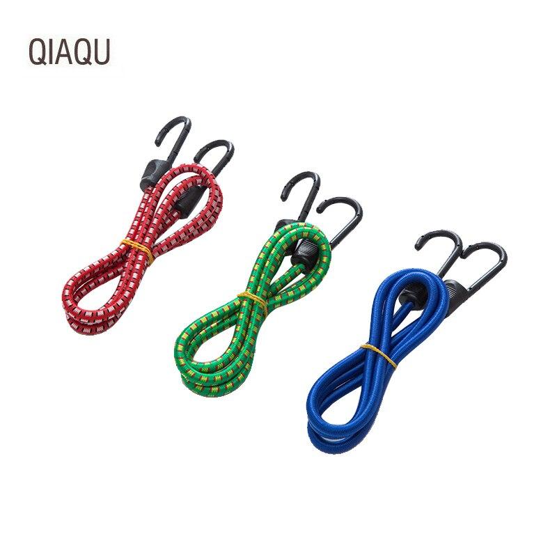 QIAQU Tension-Rope-Hooks Luggage-Rope Travel Motorcycle Stretch-Tie-Strap Bundling Elastic