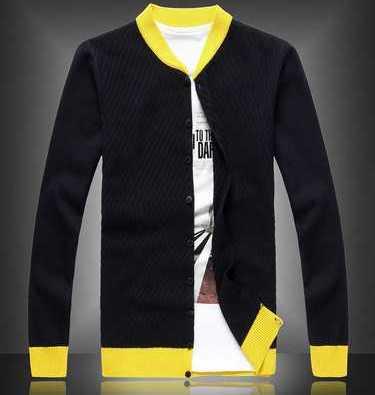 Popular Yellow Cardigan Sweater Men-Buy Cheap Yellow Cardigan ...