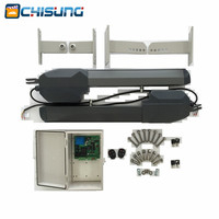 Heavy duty 500kg AC 230V Automatic Door Operators Type swing gate with limit switch dual arms 3m 4m with Remote System