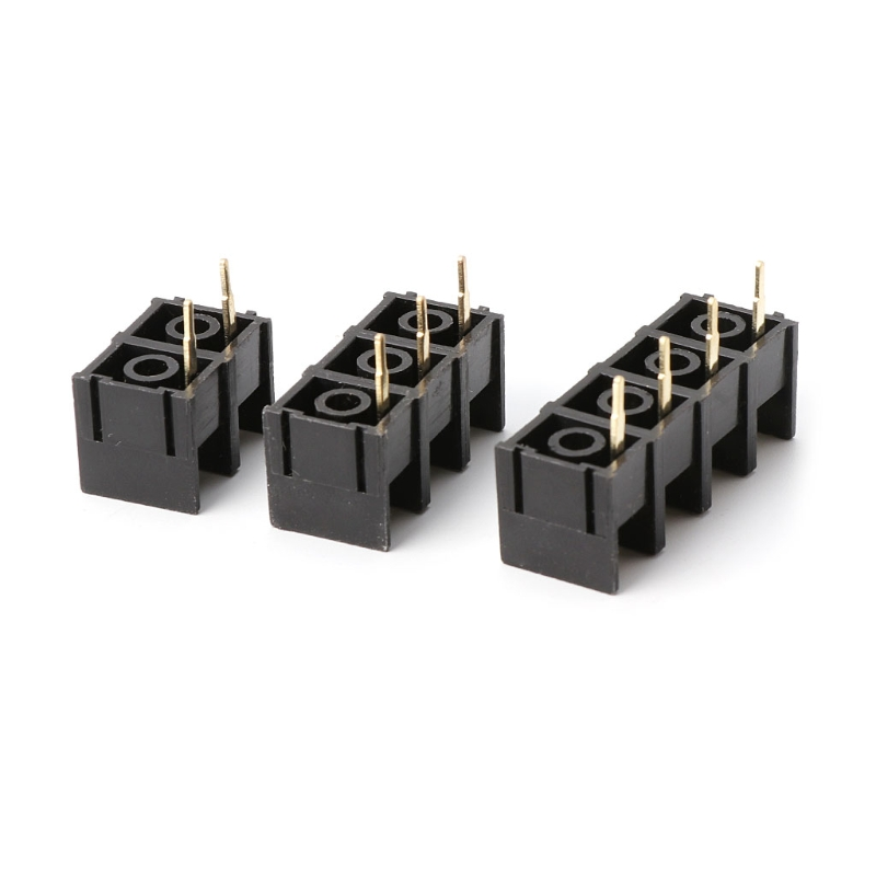 10PCS 300V 25A Black 2/3/4PIN KF1000 10mm Pitch PCB Screw Terminal Connector