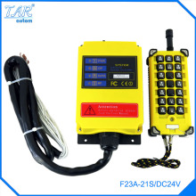 цена на Grain loader 24V DC 1 Speed 1 Transmitter 21 Channels Hoist Crane Industrial Truck Radio Remote Control System Controller