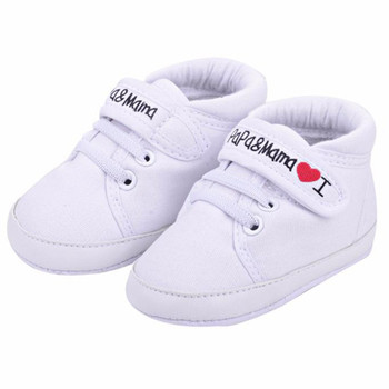 Newborn Baby Shoes Unisex First Walkers 0-18M Toddler Newborn Shoes Baby Infant Kids Boy Girl Soft Sole Canvas Sneaker conjuntos casuales para niñas
