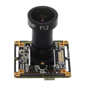 Image 2 - Starlight 1080P AHD Camera Module Board with IMX307 and F1.2 4mm Lens UTC Coaxial OSD Control Colorful Nightvision