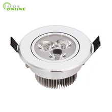 < Bright-LEDs>WholesalePrice 3W270lm led spot light bathroom items +Dimmable Driver energy saving Free Shipping цена 2017