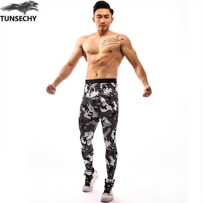 Mens Compression Tights Pants Jogger Fitness Excercise Bodybuilding Long Pant Trousers Spandex Quick Dry