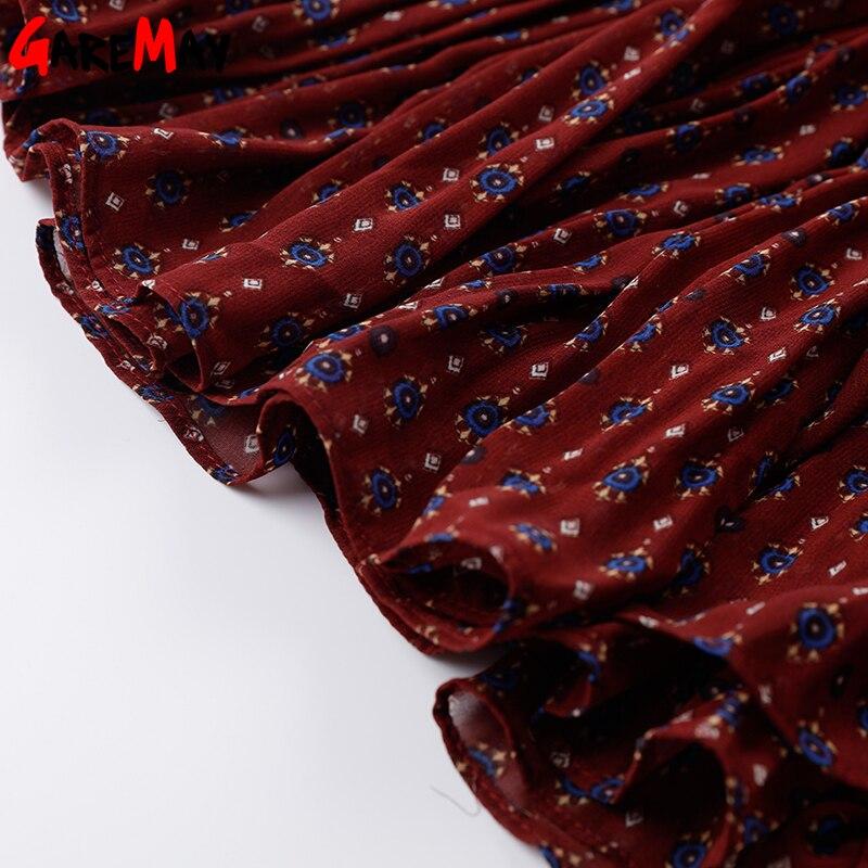 Платья с цветочным принтом - Женская одежда - Фотография 6