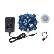 Магнитный левитационный сердечник DIY Kit Магнитный левитационный модуль с светодиодный лампой и Прямая поставка