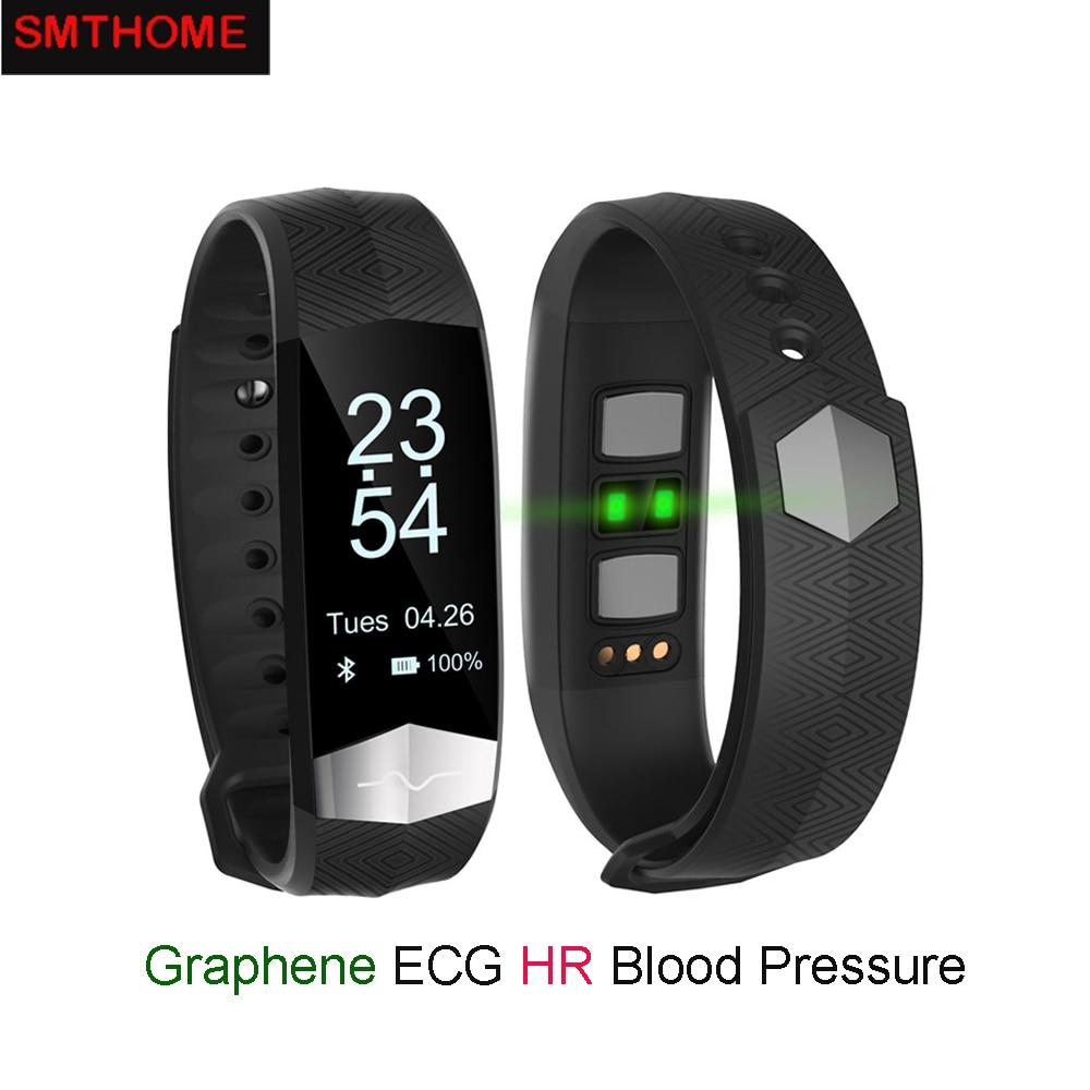 CD01 Graphene ECG HeartRate Blood Pressure Smart Bracelet