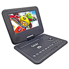 New 7.8inch Portable DVD Player Digital Multimedia Rechargerable Player With Game FM Radio TV AV Monitor Card Reader U Drive