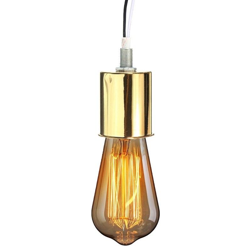 Vintage Retro Antique Edison Ceramic Light Bulb Hang Socket Lamp Base Holder Fitting For E27 Type Bulbs In Bases From Lights