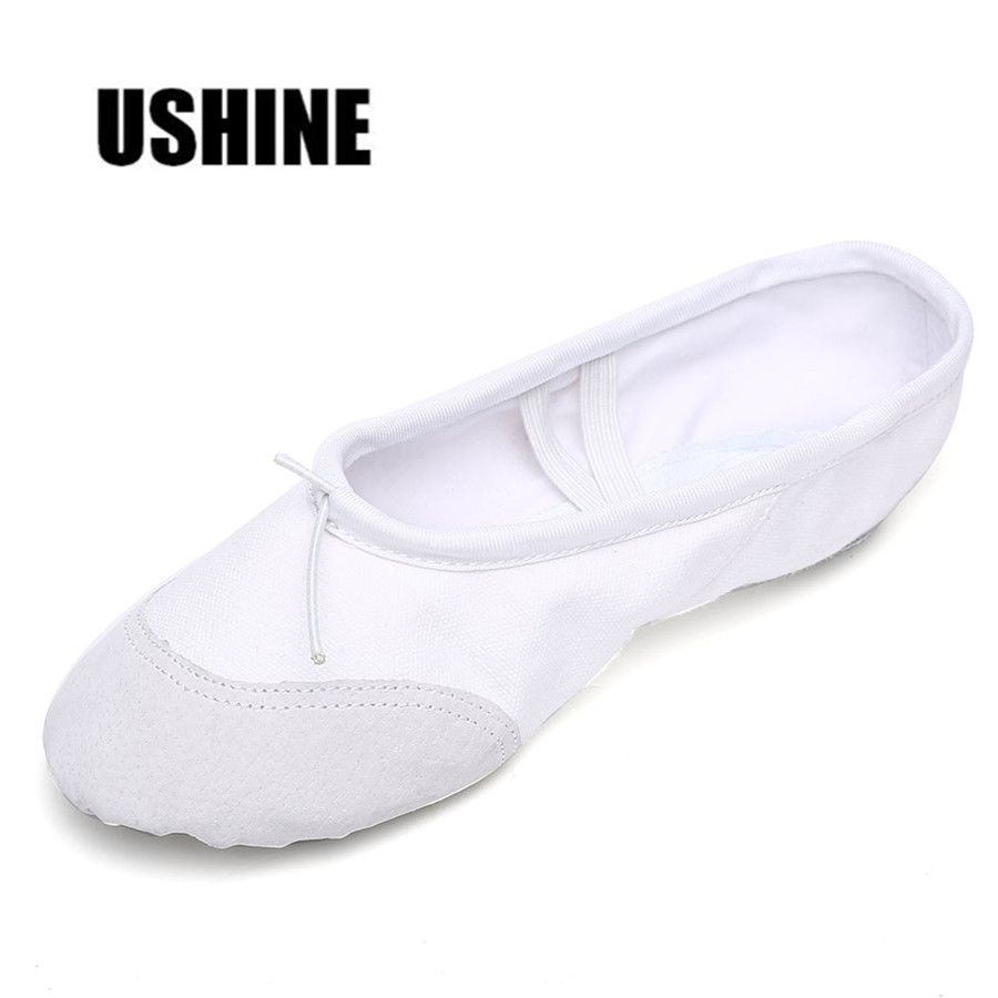 Professional White Canvas Teacher Ballet Zapatos BD Ballet Shoes Dance For Girls Ballet Shoes Dance Ballet Shoes Children Women