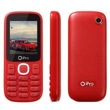 2016 ipro марка мобильного телефона 2.0 дюймов MTK разблокированные телефоны Celular клавиатура двойной Мобильные SIM-карты бар сотовый телефон для старейшин оптовая продажа