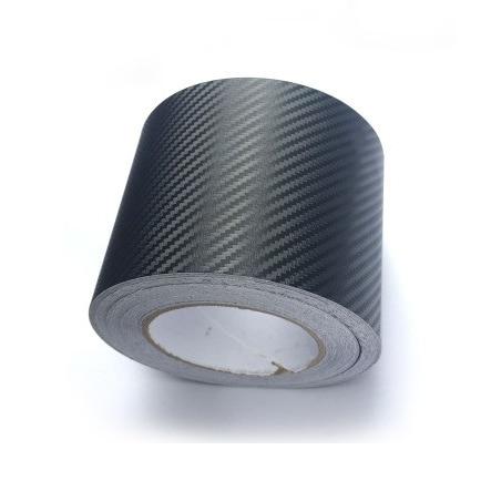 10cmx1.27meter 3D Black Carbon Fiber Film Vinyl Sticker Car Body