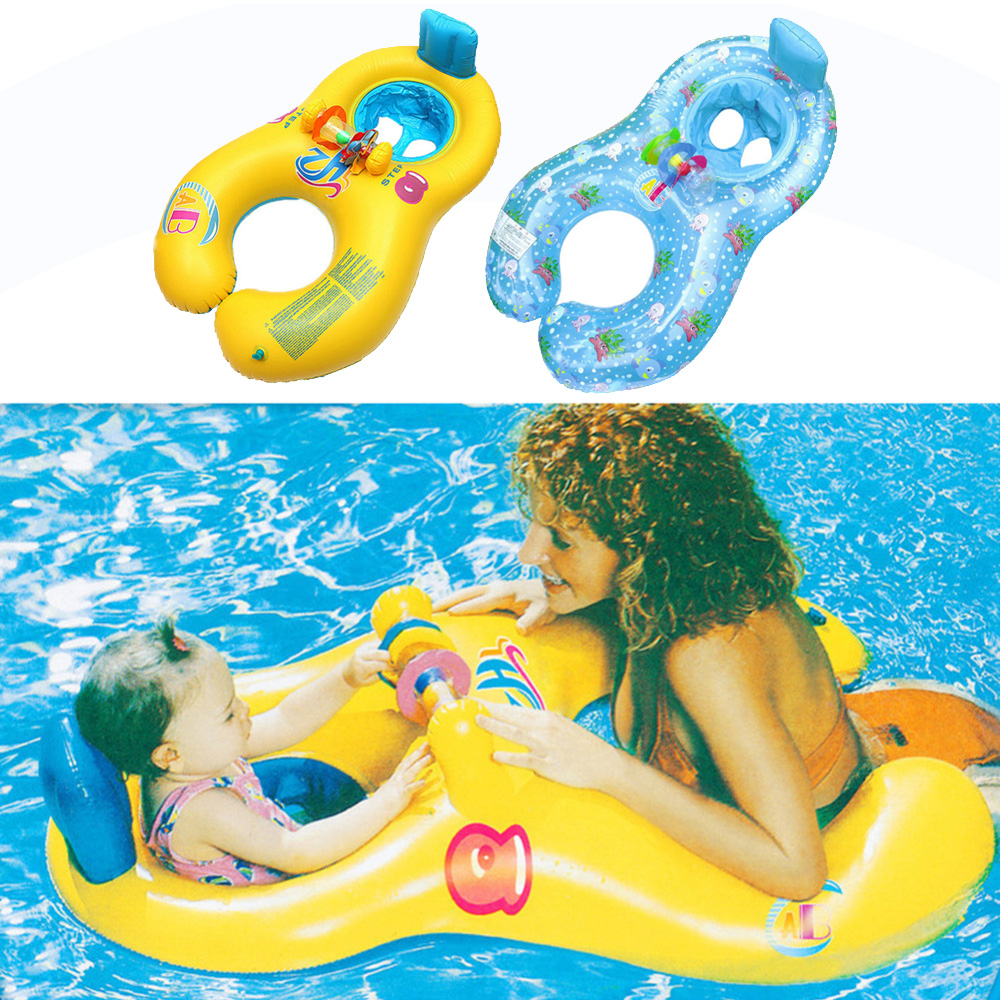 Children Waist Inflatable Floats Swimming Pool Toy Baby Swimming Ring Floating Baby Bathtub Mother Child Swimming Accessories