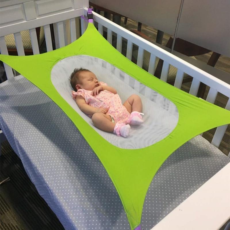 Baby Crib Infant Portable Bed Folding Cot Bedje Travel Playpen Hanging Swing Hammock Cradle Hammock Bed Photography Hamac Bebe